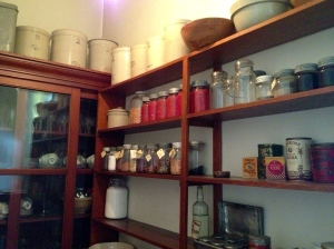 Rutherford's pantry