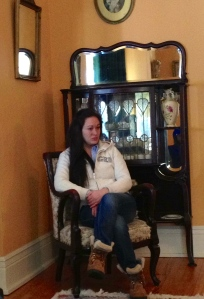 In the parlour