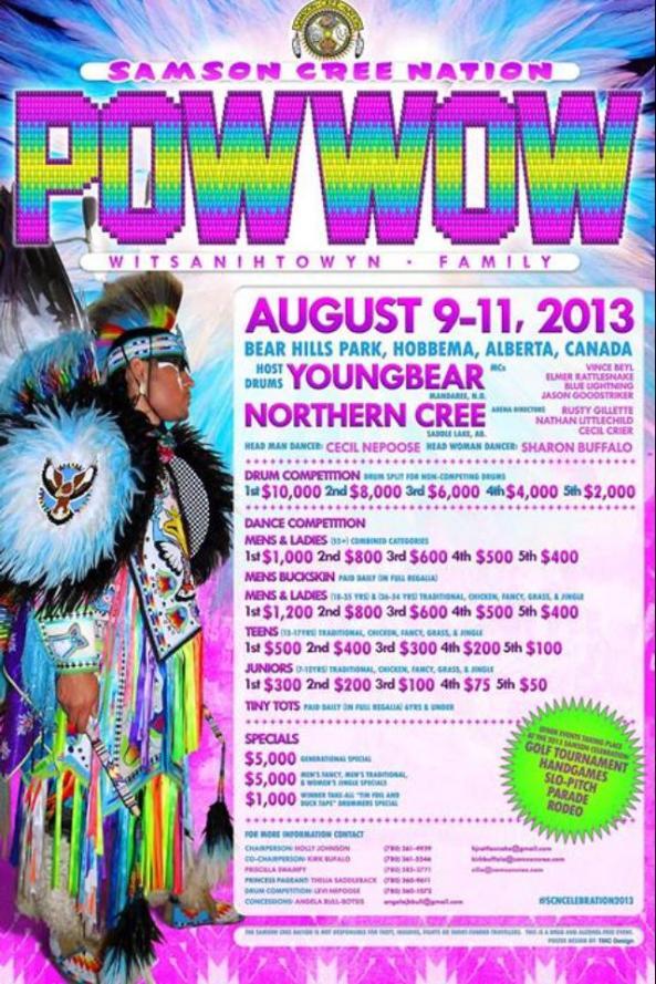 Samson Cree Nation Pow Wow