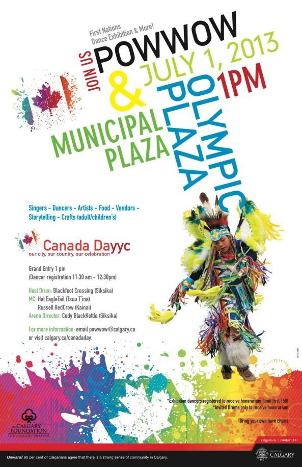 Calgary Canada Day Pow Wow