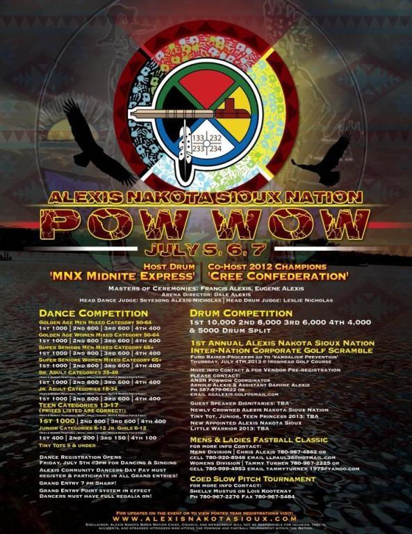Alexis Nakota Sioux Nation Pow Wow