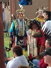 Men at the Alexander Pow Wow 2103