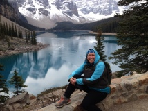 Go hiking in the mountains: Moraine Lake