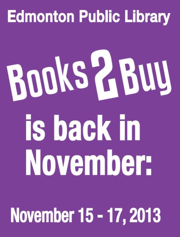 Edmonton Library Book Sale