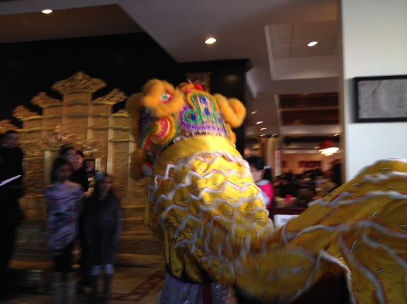 Lion and Dragon Dances in Chinatown