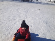 Sliding around at Silver Skate Festival