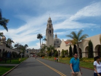 Buildings in Balboa Park reflect the early Spanish settlers.