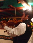 The Mariachi band at our restaurant