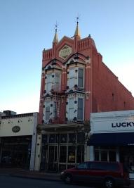 Older buildings in the Gaslamp District, San Diego