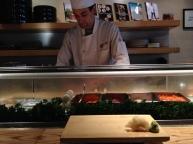 Sushi chef, Marco-san at Nobu Restaurant