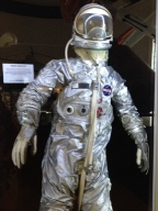 A space suit at San Diego Air & Space Museum