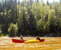 Catching an empty canoe