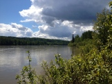 The Athabasca River, from Fort Assiniboine Sandhills Wildland