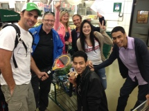 Grocery scavenger hunt at SaveOn Foods