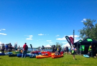 There were so many boats available to try out at Paddlefest.