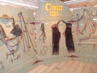 Inside John Ware's cabin