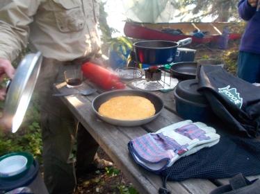 Bannock for breakfast