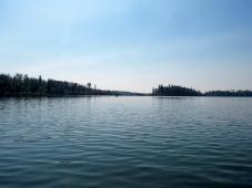 End of Kinnaird Lake