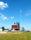 The visitor information centre for Elk Point.