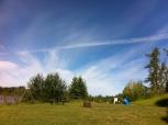 Beautiful skies all weekend.