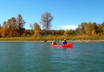 Canoeing from Devon-Edmonton