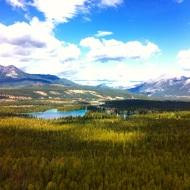 Hiking in Jasper