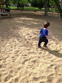 Running in the playground