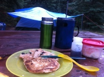 My favourite breakfast, pancake with French press coffee
