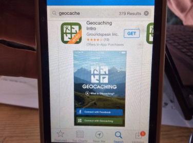 A free geocaching app for your smart phone