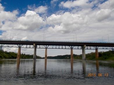 Railway bridge and Beverly Bridge (Highway 16)