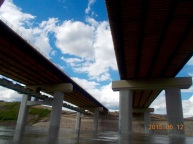 Anthony Henday Northeast bridge construction