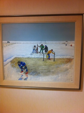 William Kurelek: winter on the prairies
