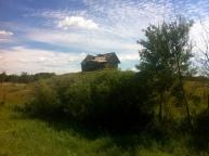 Abandoned farmhouse near Edwand