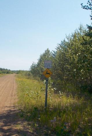Wildlife warning
