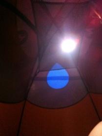 I appreciated my tarp (and tent lighting) when the rain and thunder was really heavy.