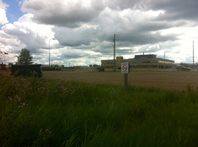 Bonnyville industrial scenery.