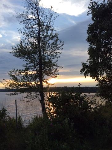 Sunset: Jackson Lake