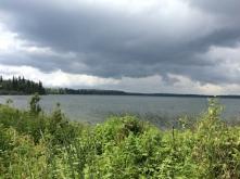 Stormy skies: Jackson Lake