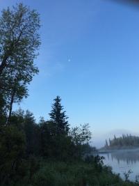 Misty morning: Jackson Lake