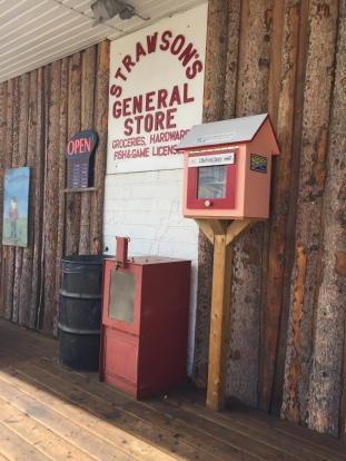 Well-stocked general store