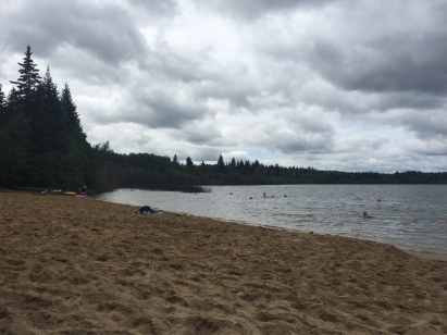 Ross Lake beach