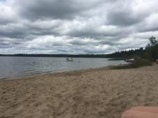 Ross Lake beach
