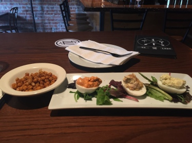 appetizers at To the Lost, Red Deer