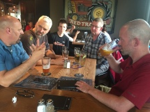 Socializing with the #yegbike gang: Tuesday is the new Friday