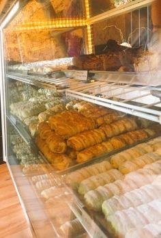 Cannolli at Sweet Capone's Italian bakery, Lacombe