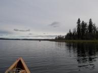 Kinnaird Lake: return to our campsite