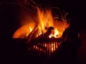 What a wonderful fire!