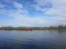 Leaving Jackson Lake, final morning