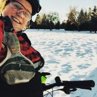 "Winter cycling can be fantastic fun, especially with a ""fat bike"""