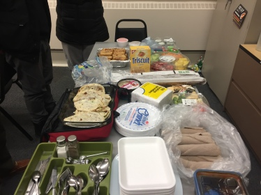 International potluck for my LINC evening class